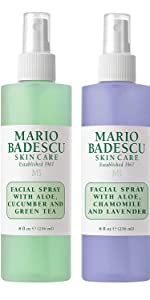 Facial Spray With Aloe Cucumber & Green Tea