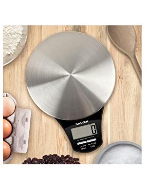 Balance de cuisine numérique Salter Aquatronic en acier inoxydable