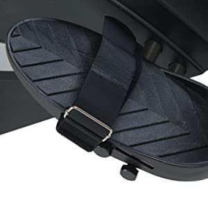 textured rowing foot pedals