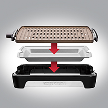 Smokeless Technology Eliminates up to 80% of Smoke*