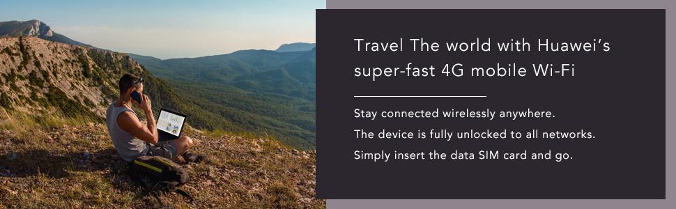 Huawei E5576-320 travel hotspot