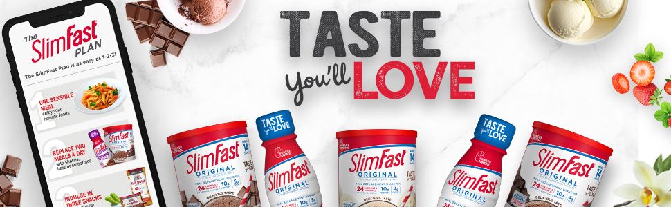 slimfast powders original