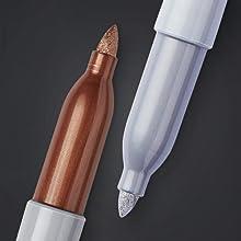 Metallic tip marker detail