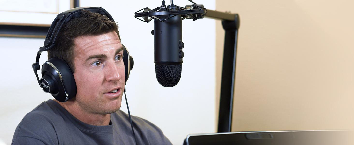 Mikrofon Blue Microphones 274 Yeticaster Broadcast Podcast Aufnahme SEHR GUT