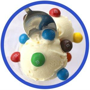 Try using Mamp;M'S Chocolate Caramel Candies as candy sprinkles for ice cream sundaes.