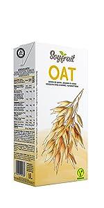 SOYFRUIT - Bebida de avena, 1 L (paquete de 6): Amazon.es: Alimentación y bebidas