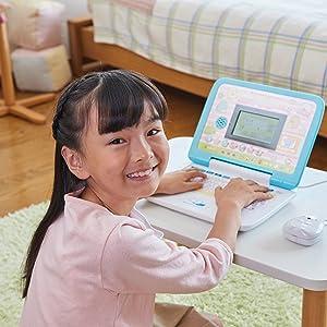 パソコン、ぱそこん、女児、小学校、6才以上