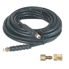 """high pressure hose, couplers, plugs, fittings, universal fittings, adapters, rubber hose, 3/8"""", 1/4"""""""