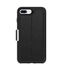 newest a949d 7f20f Amazon.com: OtterBox STRADA SERIES Case for iPhone 8 Plus & iPhone 7 ...