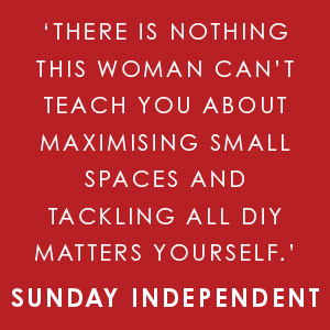 'There is nothing this woman can't teach you about ... tackling all DIY yourself' Sunday Independent