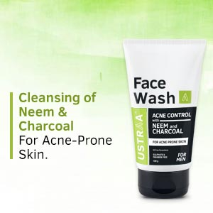 Face Wash, neem, charcoal, acne-prone skin, remove pimple, oily skin