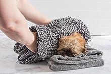 pet towel,pet towel with pockets,absorbent pet towels,pet drying towel,pet drying mitt