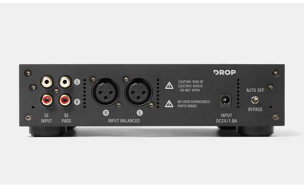 """Drop + THX AAA 789 Massdrop headphone amplifier wired XLR 1/4"""" input output"""
