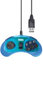 8 button blue