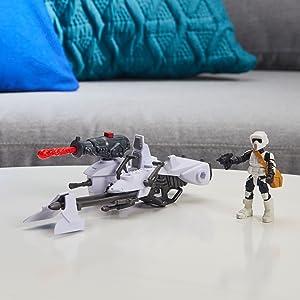Star Wars Mission Fleet Biker Scout Speeder Bike Speeder Sprint