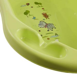 Keeeper Hippo Babywanne 84 cm mit Stöpsel lime green NEU