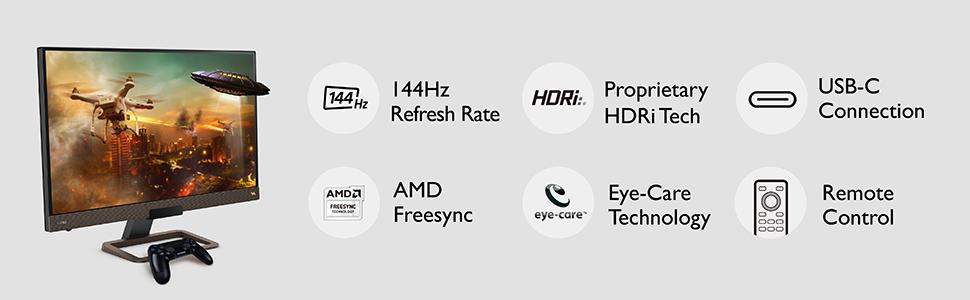 ex2780q features