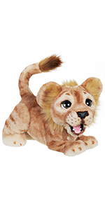 furreal, fur, real, simba, cub, furreal simba, interactive, plush,