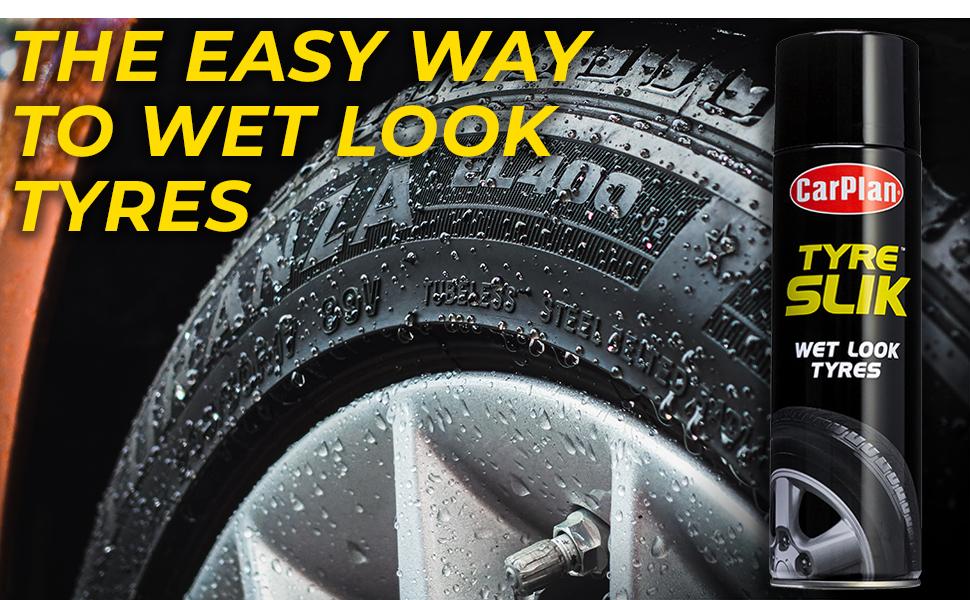 CarPlan TYS500 Tyre Slik Spray 500ml