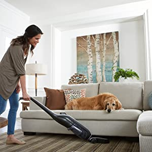 hoover cordless stick vacuum linx signature rechargeable battery eureka bissell powerful lightweight