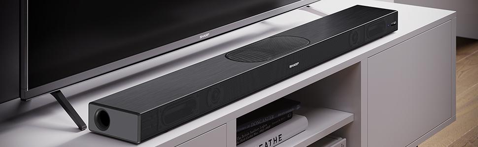 Sharp HT-SBW420(BK) 2.1 Slim - Barra de Sonido Cine en casa ...