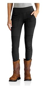 8e7b1d54cc Amazon.com: Carhartt Women's Force Utility Legging, Black, X-Small ...