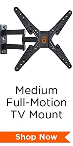 Amazon Com Echogear Full Motion Articulating Tv Wall