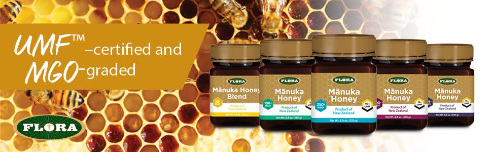 Manuka, Honey, Flora, MGO, UMF