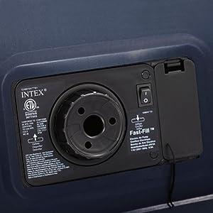 Intex 64140 - Colchón hinchable Dura-Beam Standard Essential 152 x 203 x 51 cm