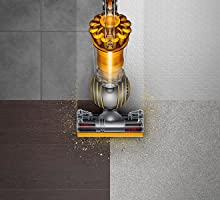 The powerful suction allows you to clean up multiple surfaces
