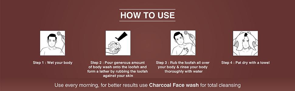 the man company,charcoal body wash, charcoal body wash for men, body wash for men, nivea body wash