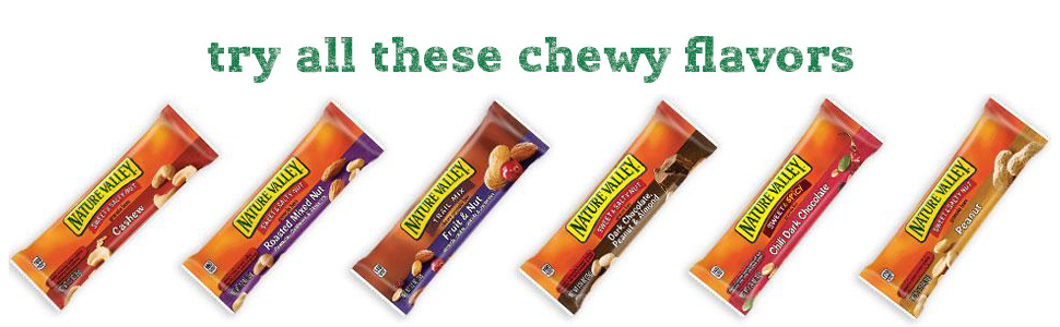 try all these chewy flavors