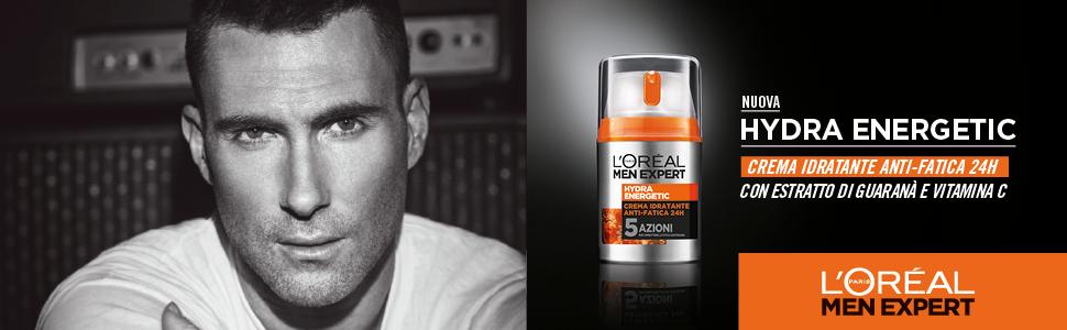 Men Expert, loreal, loreal paris, hydra energetic, crema anti fatica, crema uomo, cura della pelle