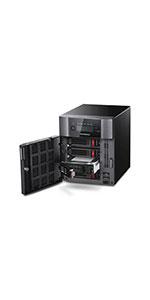 5410DN, 5010, TeraStation, NAS, array, storage, raid, drives, iSCSI, Cloud, Backup, Network