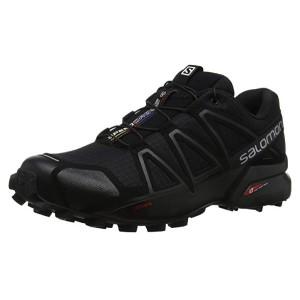 Salomon Speedcross 4, Herren Traillaufschuhe, SchwarzGelb, 40 23 EU (7 UK)