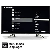 Multi Indian Languages – Enables navigation in your selected language