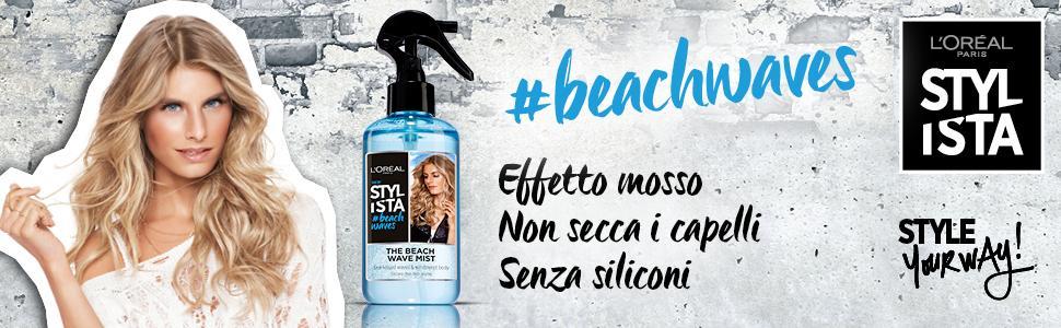 spray texturizzante, novità styling, stylista, beach waves, capelli mossi definiti, effetto spiaggia