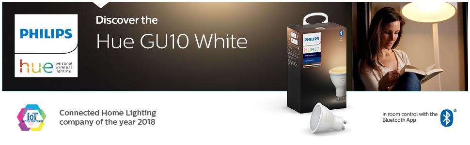 Hue GU10 white