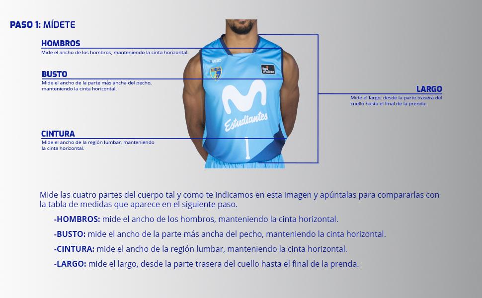 Movistar Estudiantes Camiseta Juego Temporada 19/20 Local Primera ...