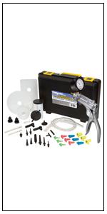 MV8500 vacuum brake bleeding, pressure bleeding, bleeder, clutch bleeding, job tool, fluid pump