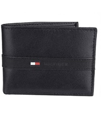tommy hilfiger pascase ranger leather wallet