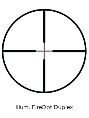 FireDot duplex reticle