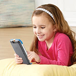 Amazon Com Vtech Light Up Baby Touch Tablet Pink