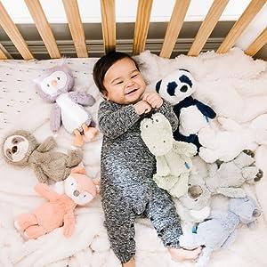 baby gund plush stuffed animal stuffie toddler green alligator crocodile soft safe play