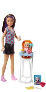 Barbie Babysitters Pappa e Nanna Playset