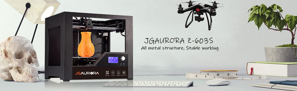 Amazon.com: JGAURORA impresora 3D FDM de escritorio ...