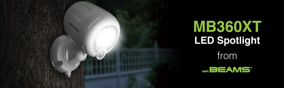 battery motion light outdoor, home security, motion light, sensor light, battery operated spotlight