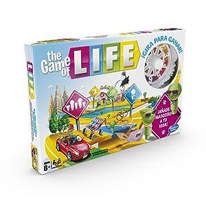 Hasbro Gaming - Juego de mesa Game Of Life (Hasbro E4304105): Amazon.es: Juguetes y juegos