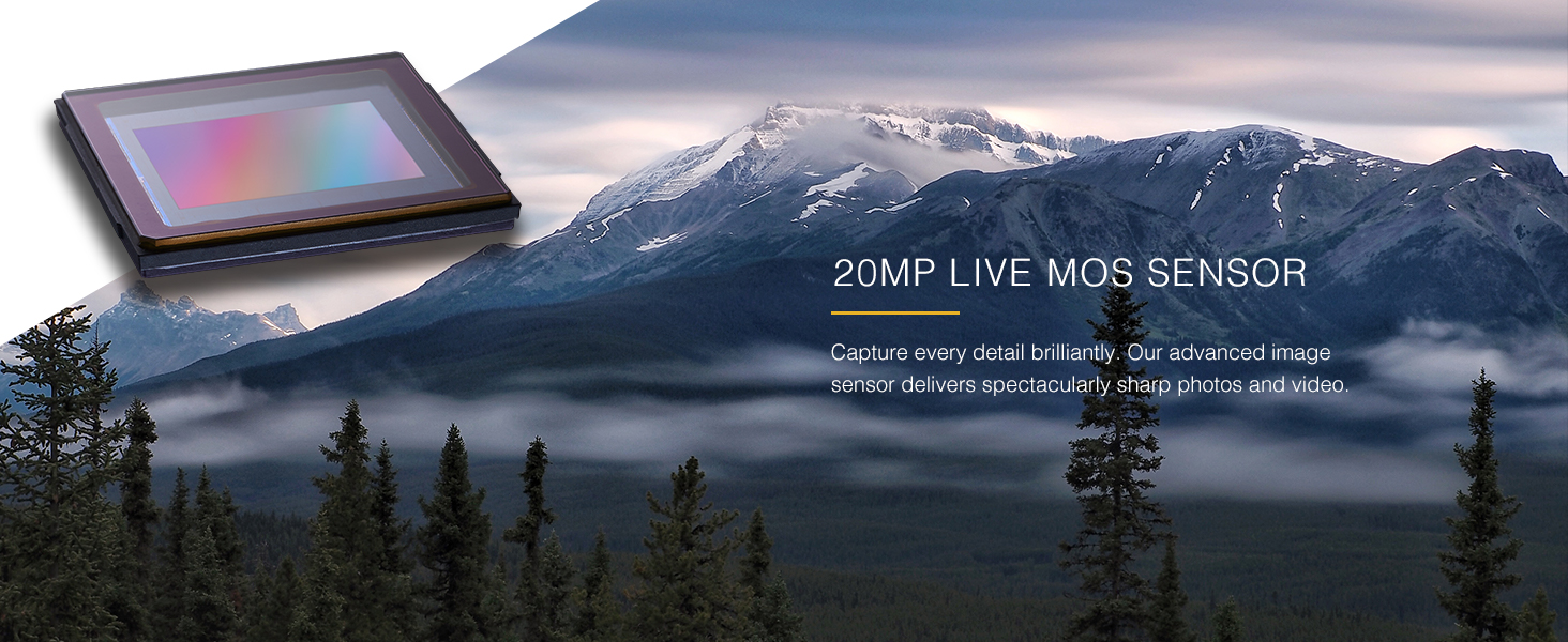 20MP LIVE MOS Sensor