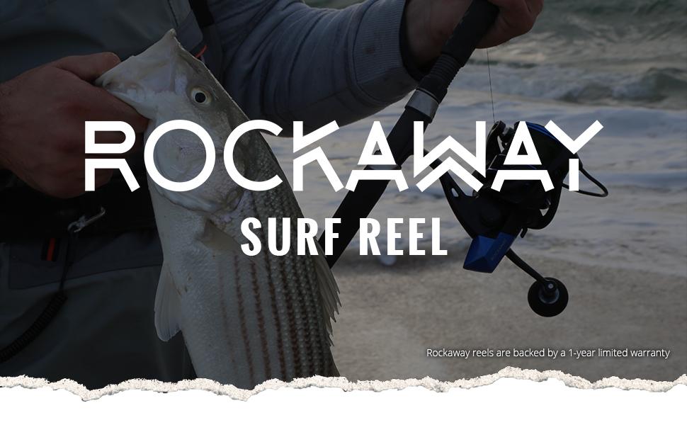 Okuma Fishing USA - Rockaway Spinning Surf Reel Header Image